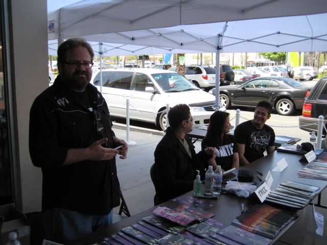 FCBD 2008 - Amazing Comics, Long Beach, CA
