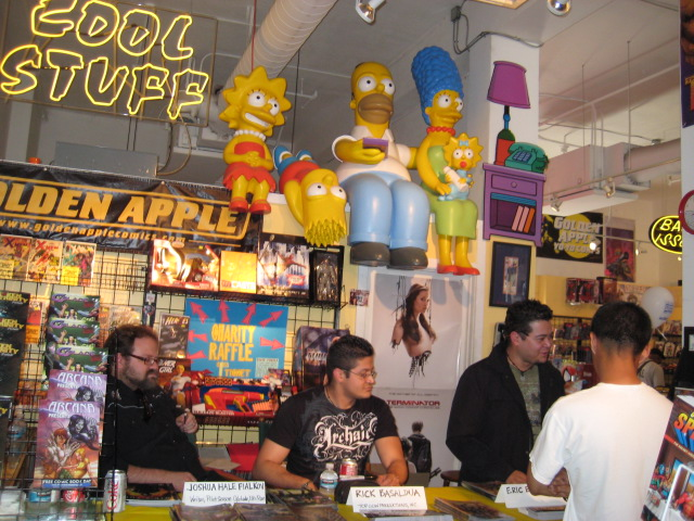 FCBD 2008 - Golden Apple, Hollywood CA