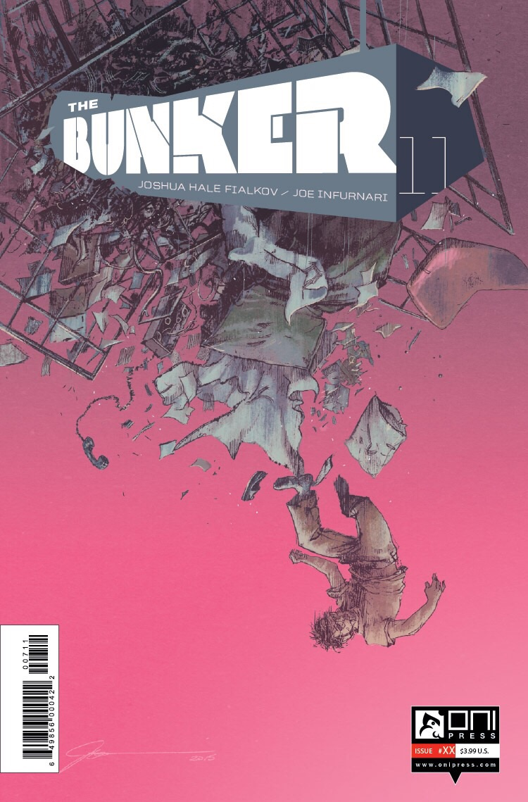 Bunker 12 cover by Joe Infurnari