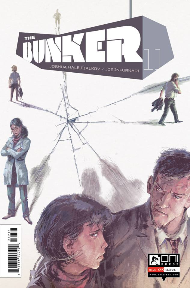 Joe Infurnari's GORGEOUS Cover for the Bunker 11.