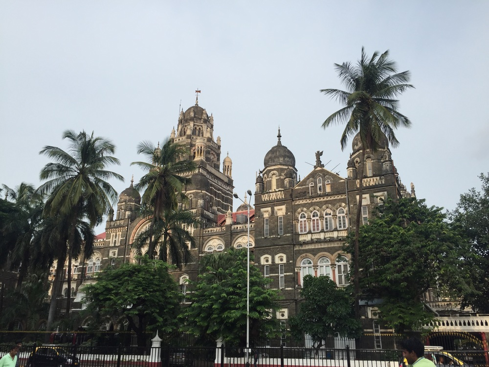 Some cool architecture, not far from the hostel I am staying at in South Mumbai