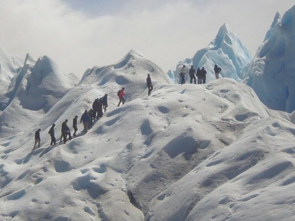 """Glacier climbing in Patagonia (2010), is one of those """"I'm really glad I did that"""" moments."""