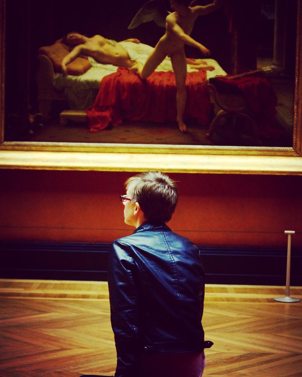 Louvre museum--Paris