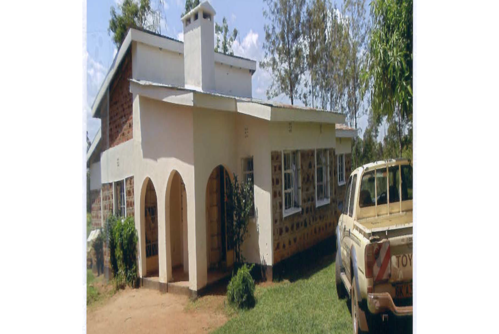 House built by Gilphine for mom-in law in Mumias.