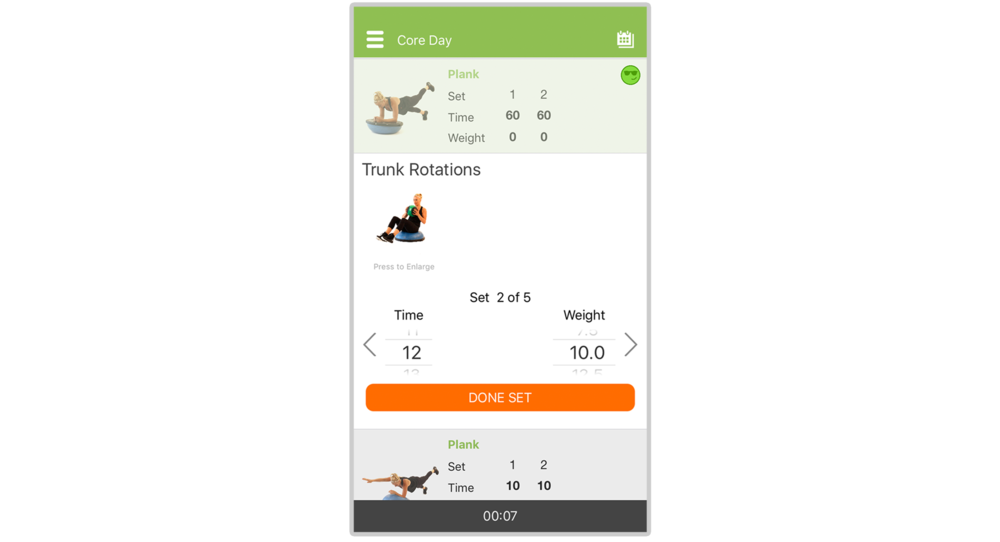 trainer plus software for gyms and trainers client workout tracker