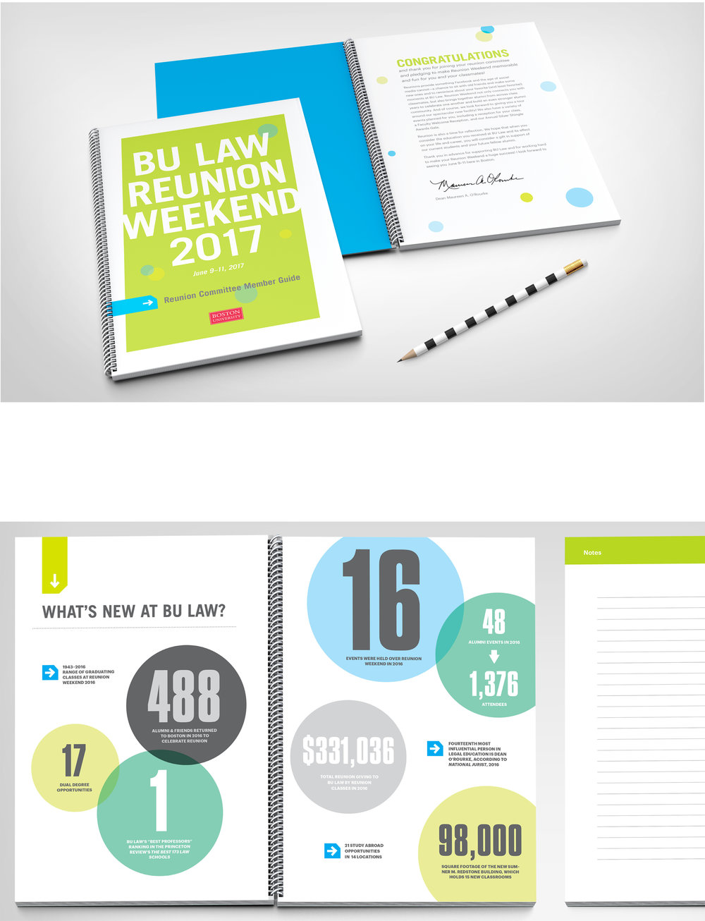 Kate Cunningham Design :: BU LAW Reunion Materials :: Collateral :: Reunion Comittee Guide.jpg
