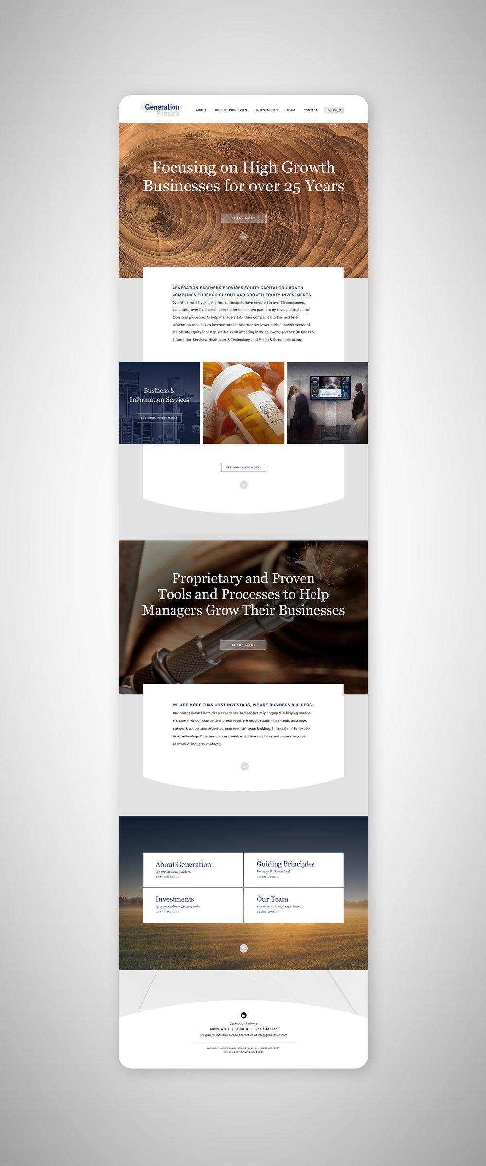 Kate Cunningham Design // Generation Partners // Website.jpg