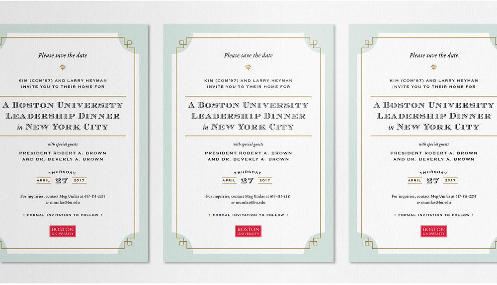 Kate Cunningham Design :: Boston University Leadership Dinner :: Collateral :: Save the Date 2.jpg