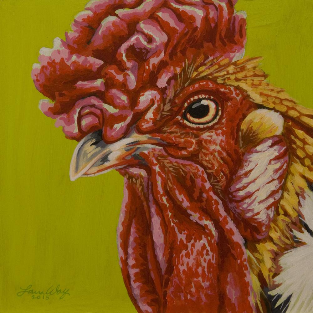 Orange Rooster