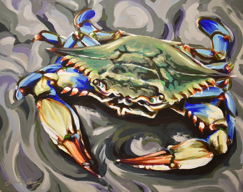 Blue Crab for Colynn