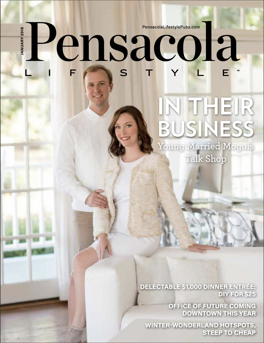 Pensacola Lifestyle Magazine (Cover)