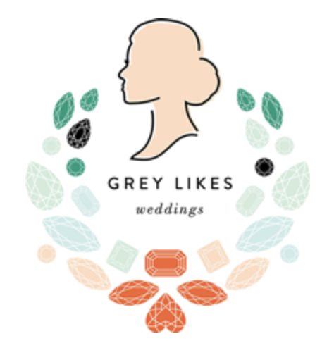 Grey Likes Weddings - Cerulean Morroco Glam