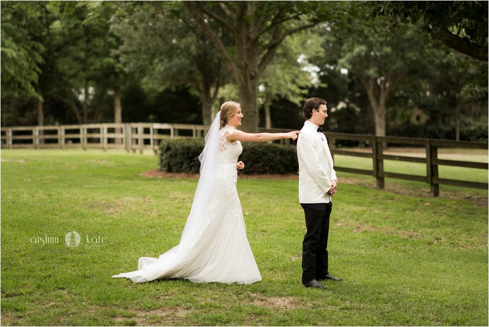 Campbell's Clearwater Farm| Fairhope First Look | Camille + Hunter
