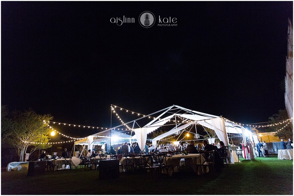 Palafox Wharf    |    P    S Weddings    | Abby + Brannon  |  Tent:    Gulf Coast Tents