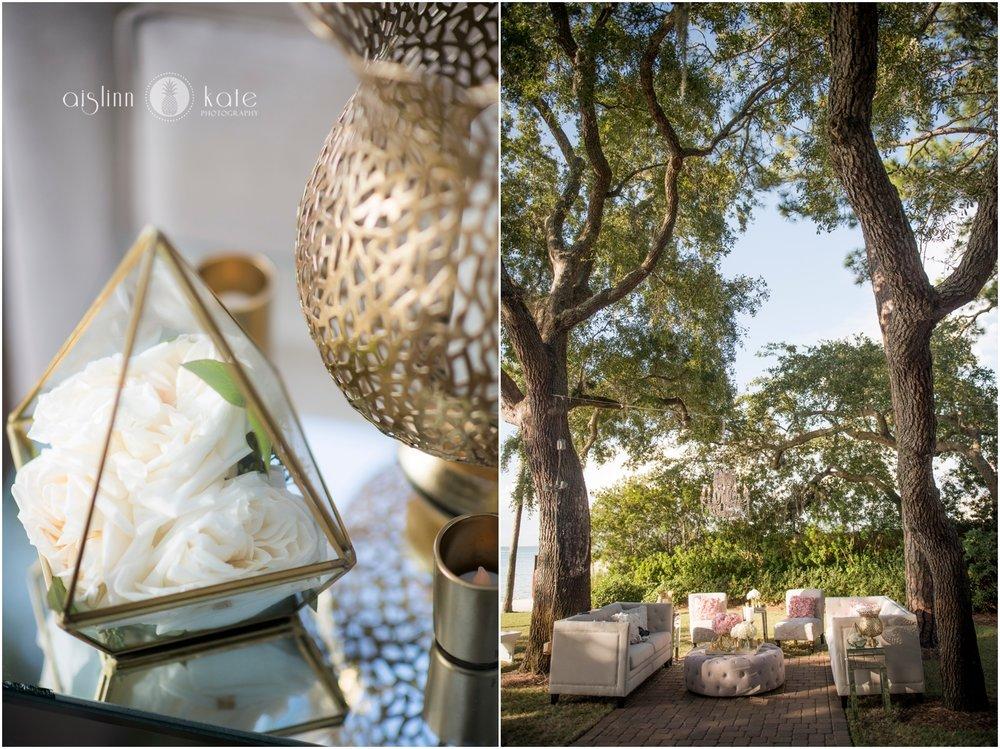 Destin Bay House  | Outdoor Reception |  Amber + Richie