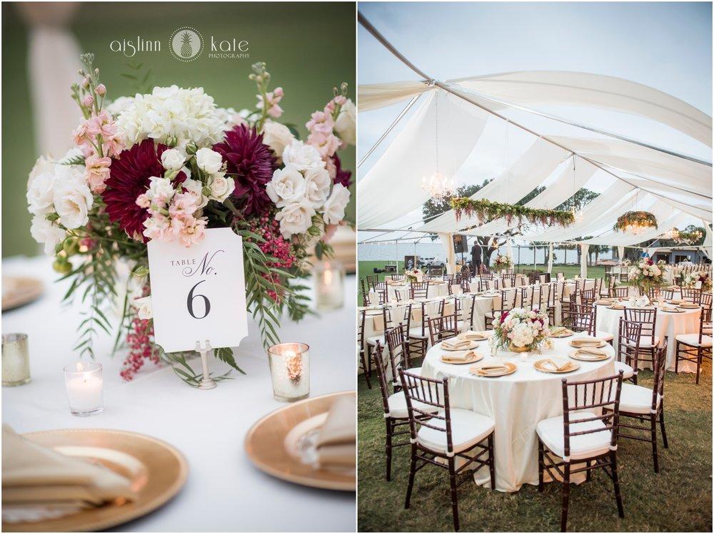 Pensacola Country Club  | Outdoor Reception |  Ali + Scott