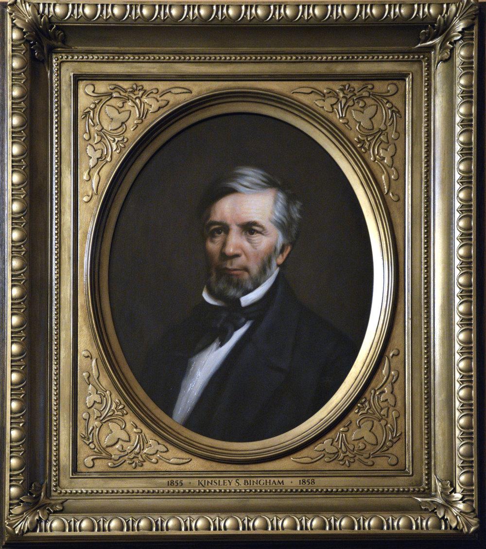Governor Kinsley S. Bingham, Michigan
