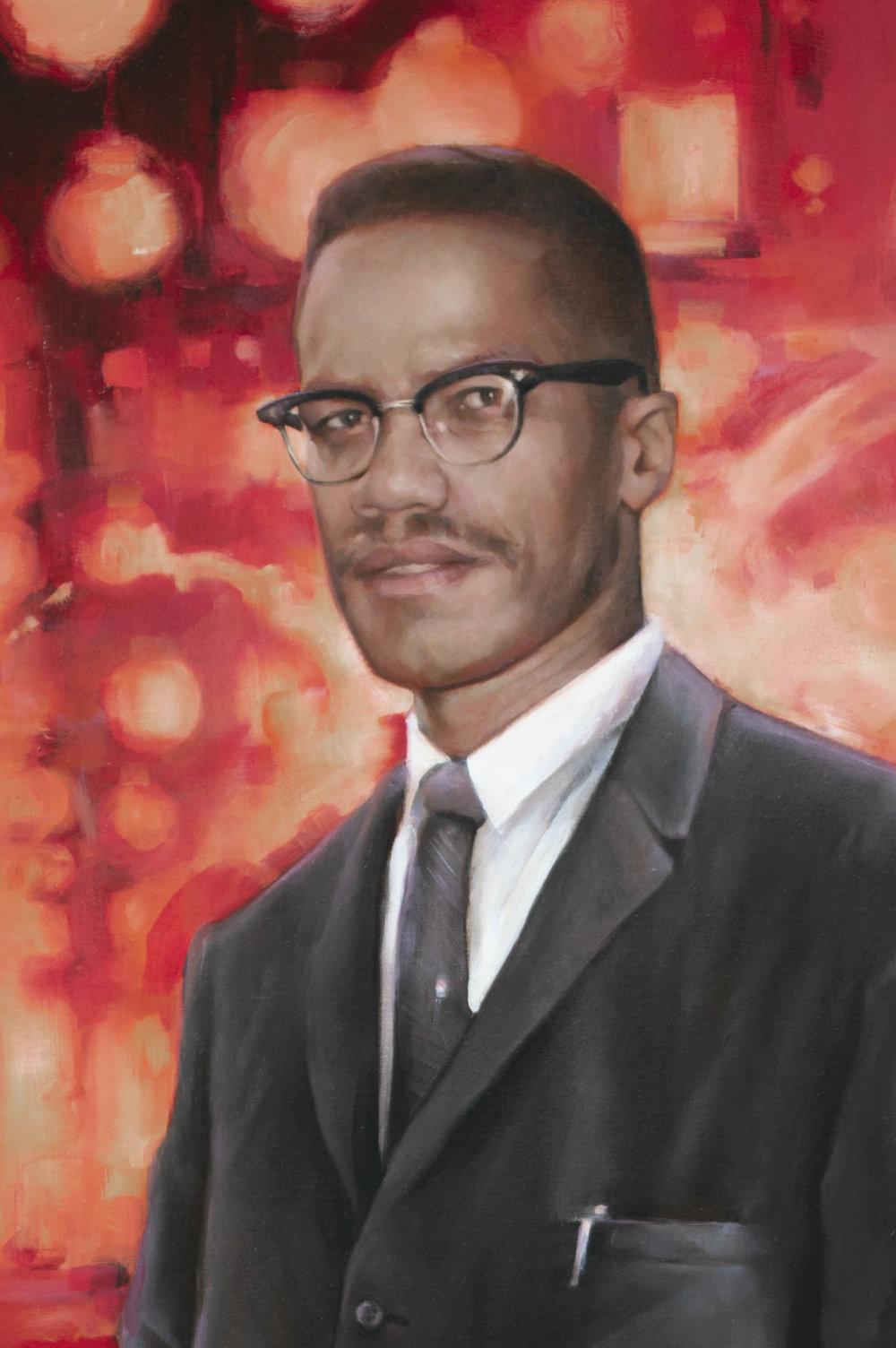 Malcolm X detail