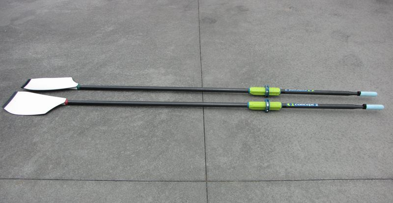 Custom Concept2 Oars