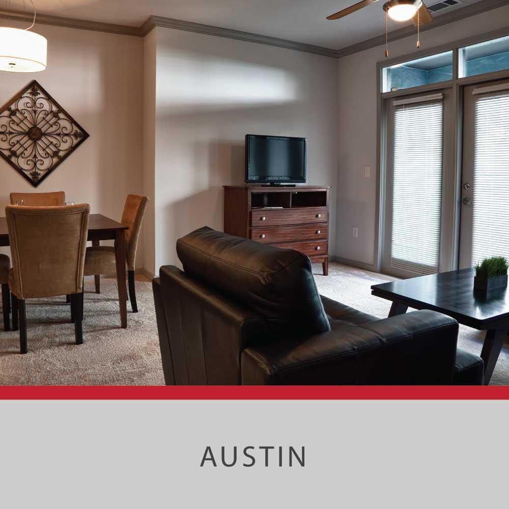 Rent Residential Furniture in Austin, TX