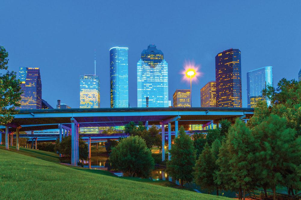 Houston Downtown Bridge