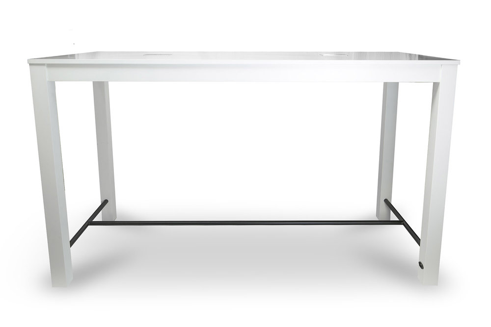 Odin Bar Table with Charging Station from Furniture Options