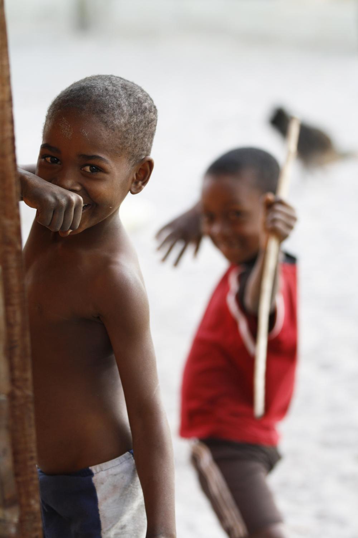 Young boysfrom Ambodivandrika (Vatomandry), Madagascar