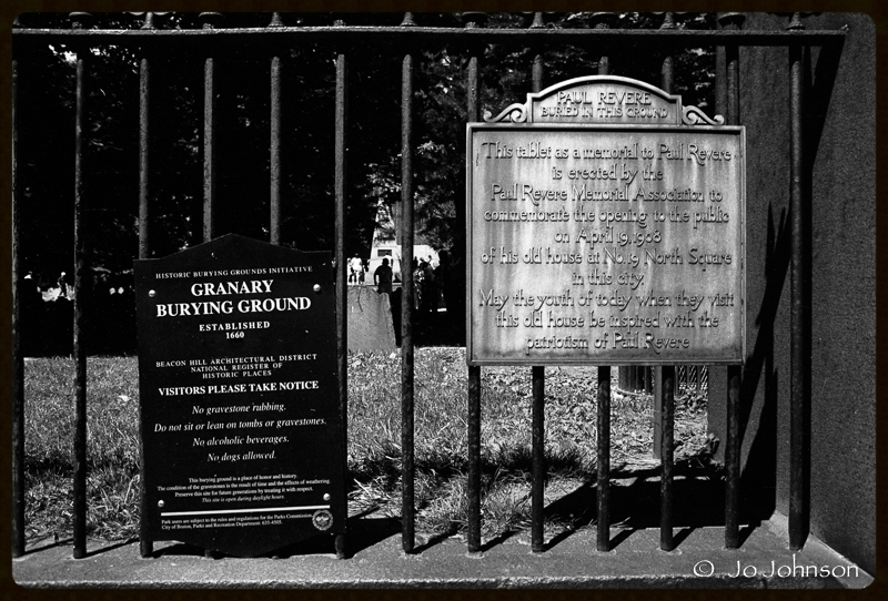 Boasting that Paul Revere is buried here. (2001)