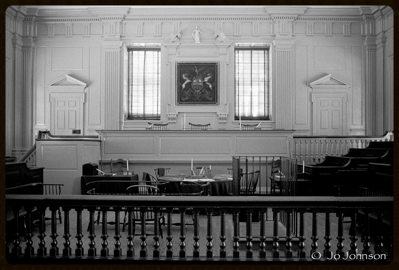 Courtroom, Independence Hall, 2001