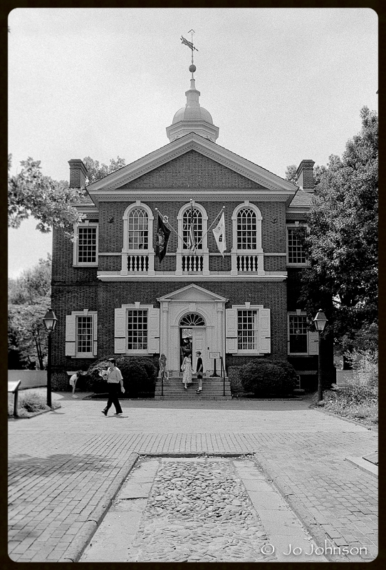 Carpenters Hall, Philadelphia, 2001