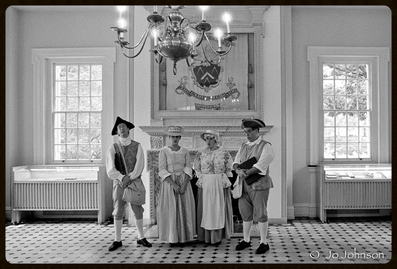 Carpenters Hall Reenactors, 2001