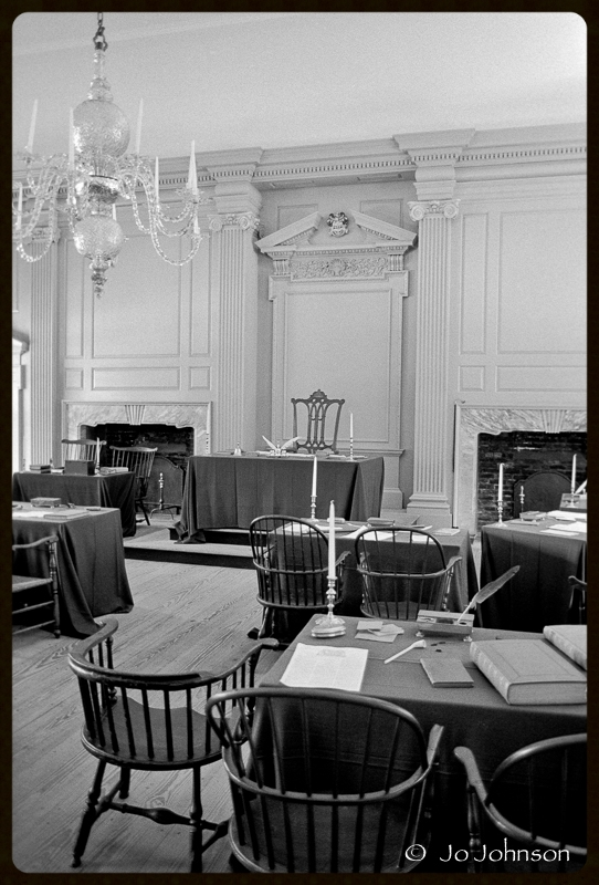 Assembly Room, Independence Hall, 2001