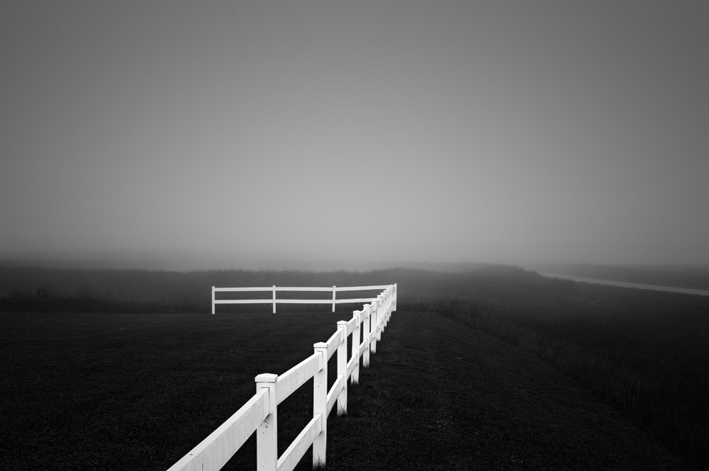 White Fence, North Dakota  (Photo Credit: Chuck Kimmerle)
