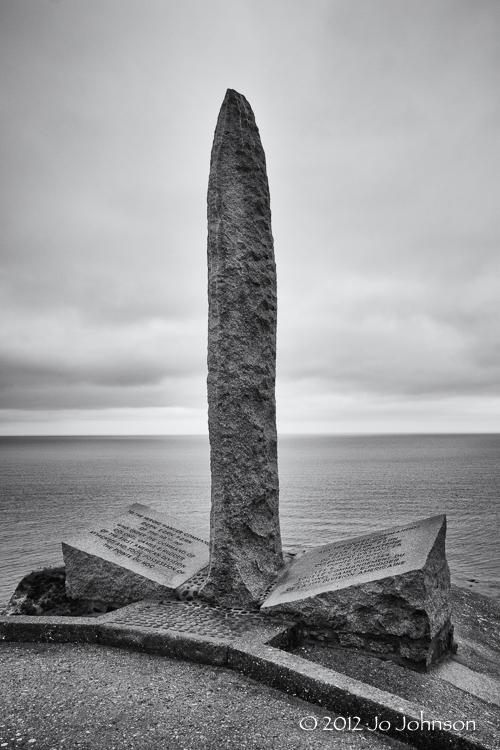 Ranger Memorial at Pointe Du Hoc