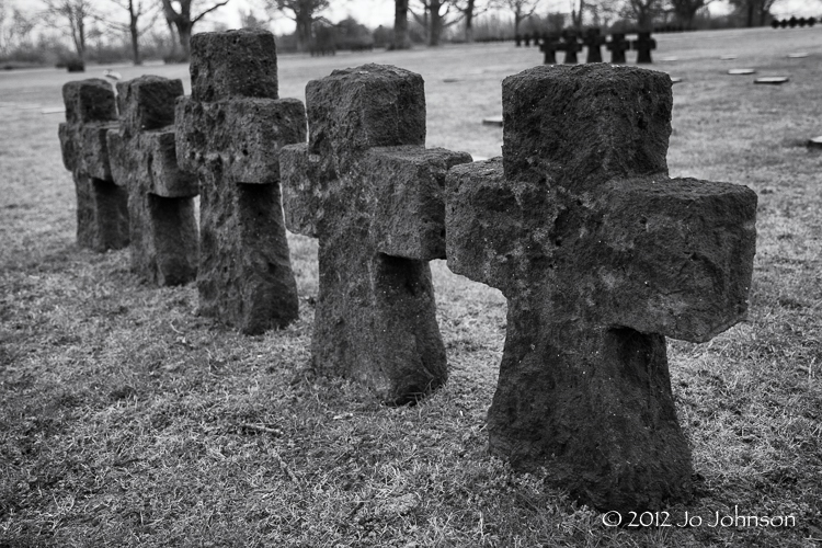 La Cambe German War Cemetery Normandy France
