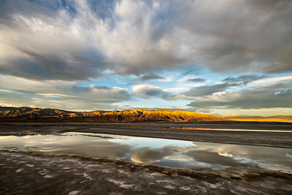 Salt Flats - Death Valley, CA  (Photo Credit: John Barclay)
