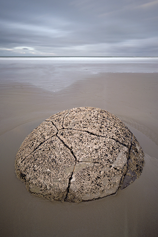 Moeraki Boulder  (Photo Credit: Dan Sniffin)