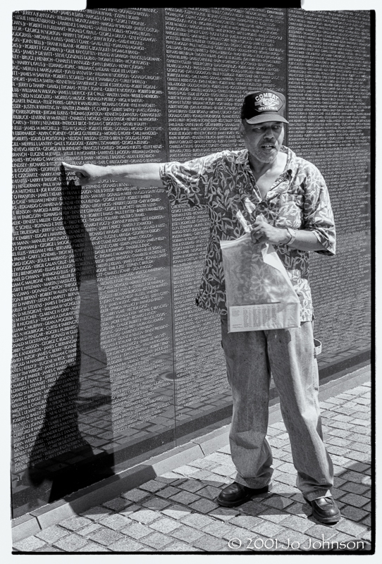Vietnam War Memorial, Washington DC 2001 (or 2005)
