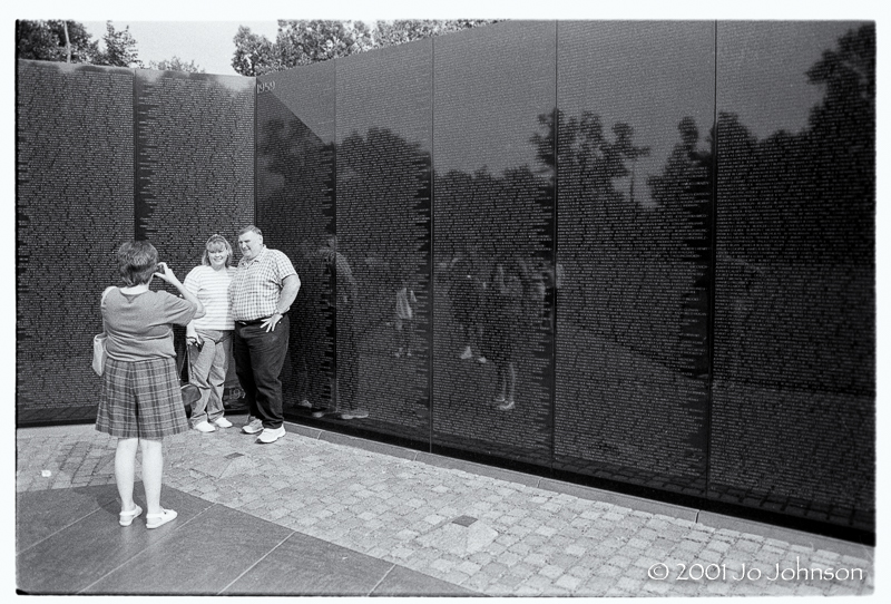 Vietnam War Memorial, Washington DC 2001