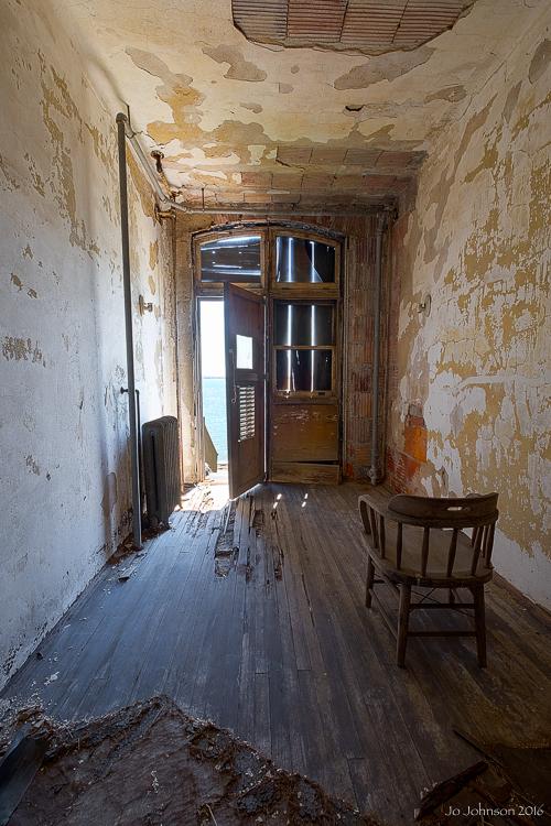 Abandoned Ellis Island