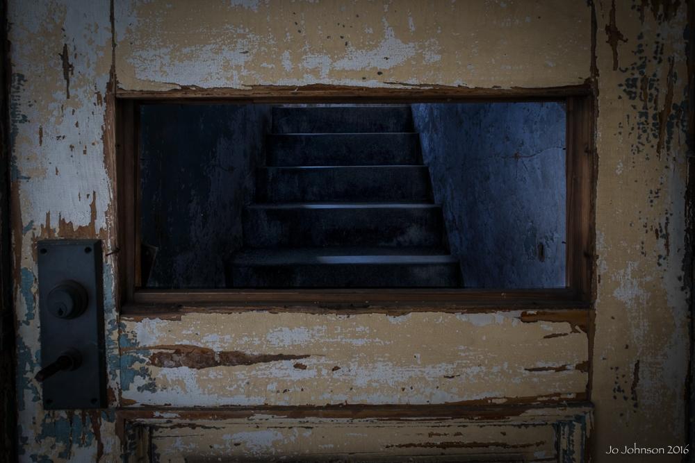 Ellis Island Hospital (Stairway)