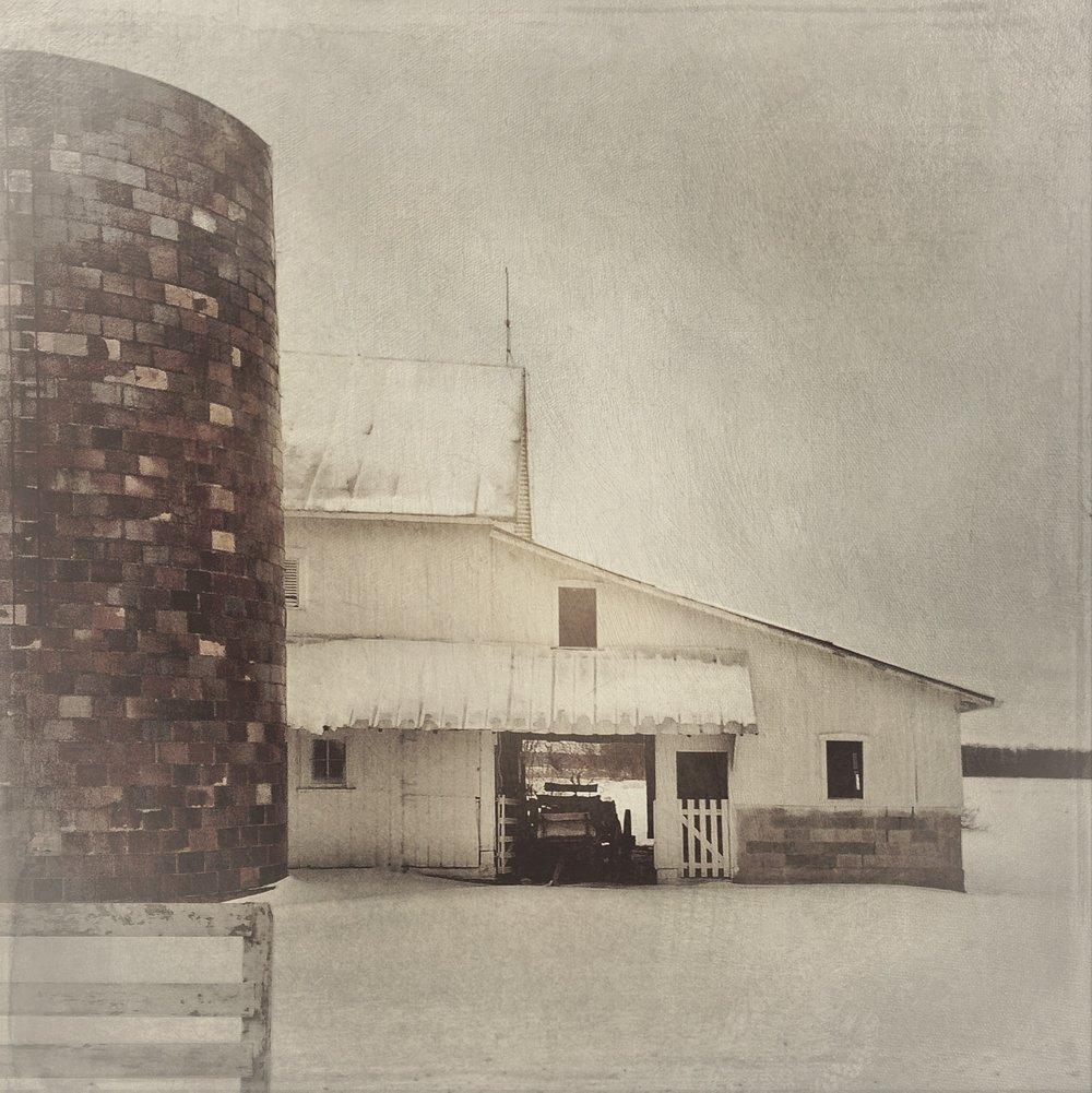 Hoosier Barn, February  [Photo Credit: Rad A. Drew]