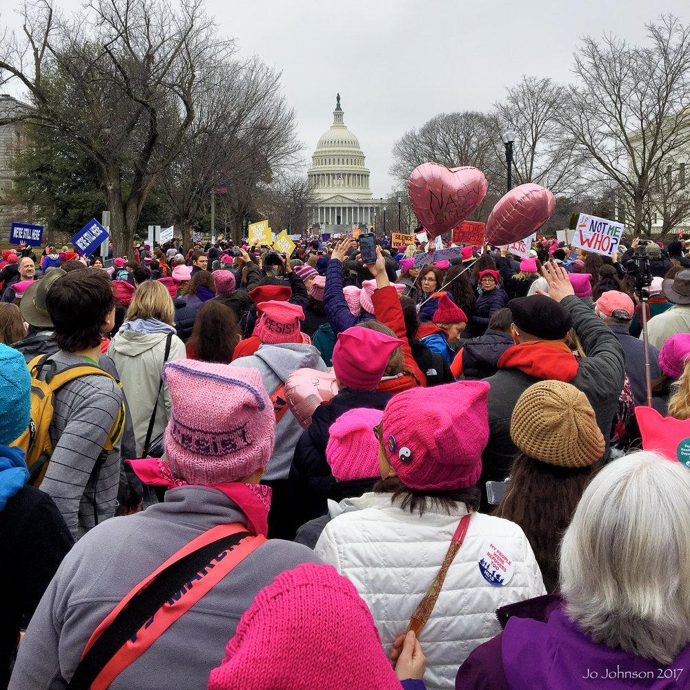 """Womens March"" - Washington, DC"