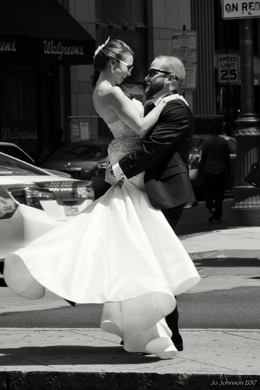 """Wedding Photos on Broad Street"" - Philadelphia, PA"