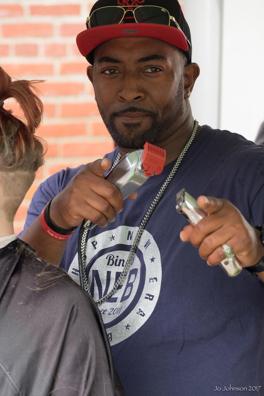 """The Barbers @ Art All Night"" - Trenton, NJ"
