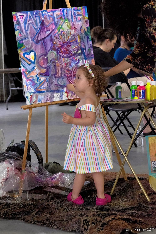 """""""Budding Artist @ Art All Night"""" - Trenton, NJ"""
