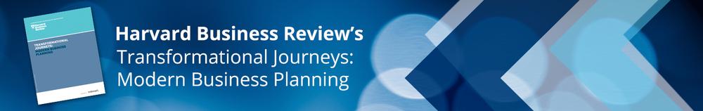 Harvard Business Review's Transformational Journeys: Modern Business Planning
