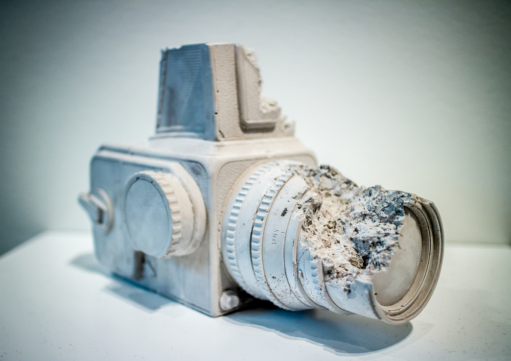 Rose Quartz Hasselblad Camera- Daniel Arsham
