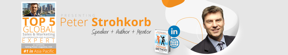 Peter Strohkorb, Speaker, Author, Executive Mentor, Business Coach