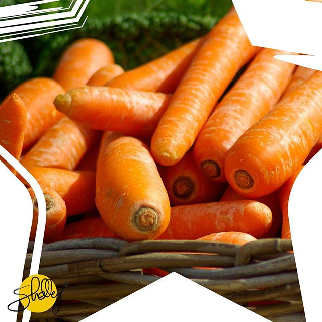 Crunchy, sweet carrots will put a smile on your face, a gleam in your eyes and pep in your step. Bite into one today!  #rabbitfood #carrots